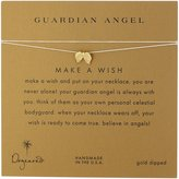 Dogeared Make a Wish Guardian Angels Wings on Silk Thread