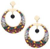 Francesca Romana Diana gold plated hoop earrings
