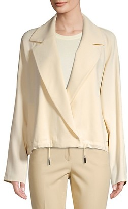 Lafayette 148 New York Zaylee Crossover Front Topper
