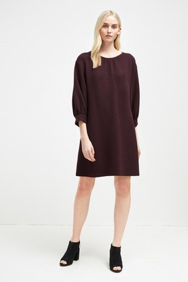 French Connection Abelena Jersey Balloon Sleeve Dress