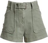 Derek Lam 10 Crosby Belted Chino Shorts
