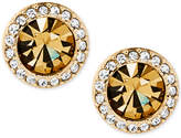 Michael Kors Stone and Pavé Stud Earrings