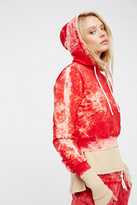 Cotton Citizen Womens CROPPED PULLOVER HOODIE