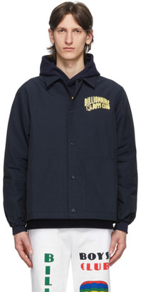 Billionaire Boys Club Navy Heart and Mind Coach Jacket