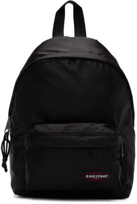 Eastpak Black Satin Orbit Backpack