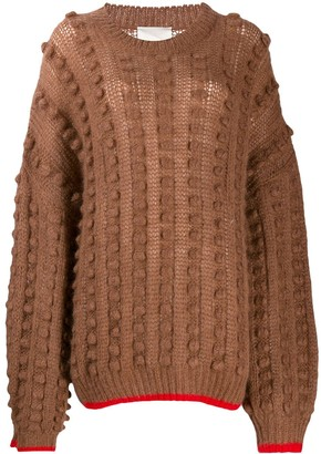 Marco De Vincenzo Contract Trim Chunky Jumper