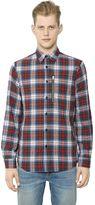 R 13 Zip Pocket Japanese Plaid Shirt
