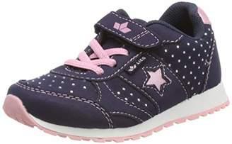 Lico Girls' Sissy Vs Low-Top Sneakers, Blue Rosa Marine, 10 UK Child