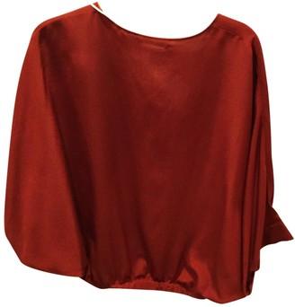 Chloé Red Silk Top for Women