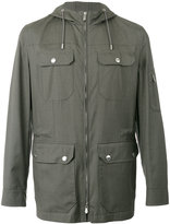 Brunello Cucinelli fitted jacket - men - Silk/Cotton/Wool - 52