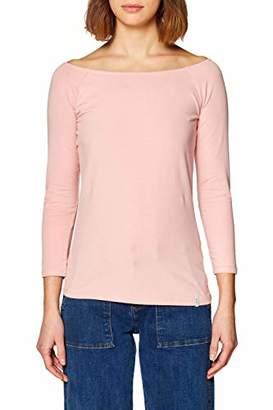 Esprit edc by Women's 128CC1K015 Longsleeve T-Shirt, Rosa (Old Pink 2 681), M