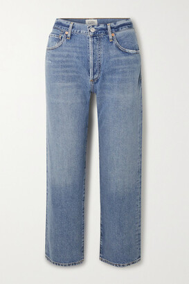 Citizens of Humanity - Emery High-rise Straight-leg Jeans - Mid denim
