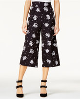 SHIFT Juniors' Printed Gauchos, Only at Macy's