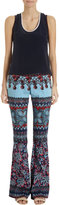 Prabal Gurung Floral Wide Leg Pants