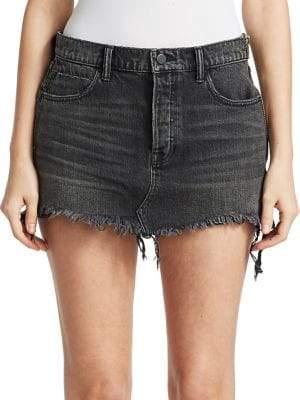 Alexander Wang Five-Pocket Denim Mini Skirt