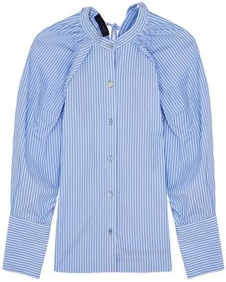 Eudon Choi Hilma Striped Cotton Shirt