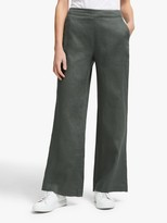 John Lewis & Partners Linen Wide Leg Trousers