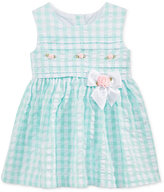 Bonnie Baby Seersucker Rosettes Dress, Baby Girls (0-24 months)
