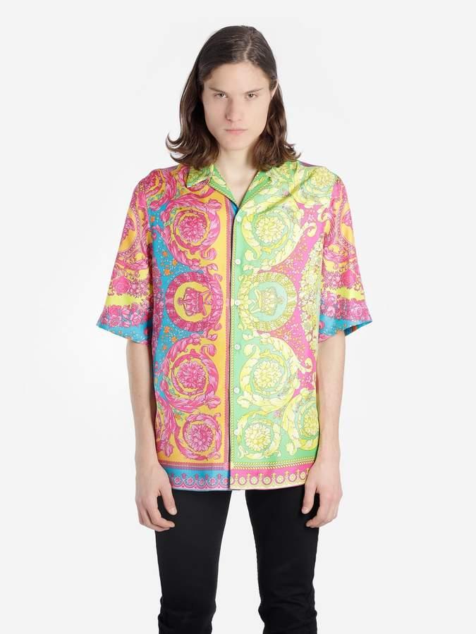 036666e5 Versace Short Sleeve Shirts For Men - ShopStyle