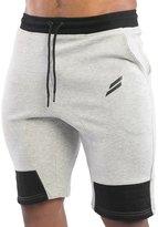 EU-Texus EU Men's Gym Workout Shorts Running Short Pants Bodybuilding Jogger with Pockets Large