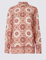 Classic Printed Long Sleeve Shirt