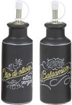 Davis & Waddell Toledo 2pce Oil & Vinegar Bottle Set