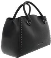 Versace Ee1vqbbb5 Emfi Black Satchel Bag.