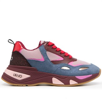 Liu Jo Chunky Colour-Block Trainers