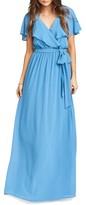 Show Me Your Mumu Women's Audrey Ruffle Wrap Front Gown