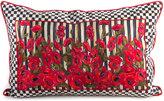 """Mackenzie Childs MacKenzie-Childs Poppy Garden Lumbar Pillow, 28"""" x 18"""""""