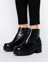 London Rebel Chunky Low Boot
