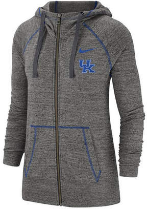 Nike Women Kentucky Wildcats Gym Vintage Full-Zip Jacket