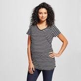 Liz Lange for Target Maternity Striped V-Neck Tee - Liz Lange for Target