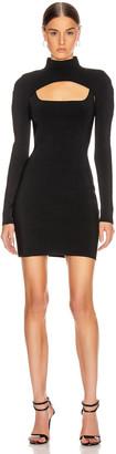 Dion Lee Stirrup Mini Dress in Black | FWRD
