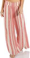 Elan International Coral Print Pants