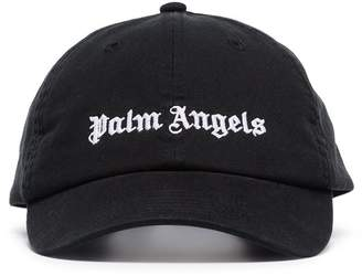 Palm Angels logo-embroidered baseball cap