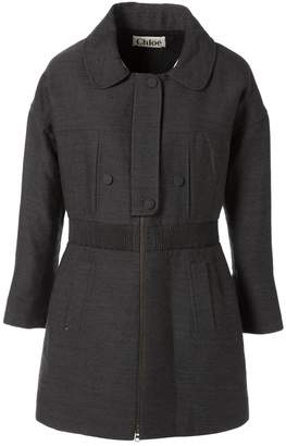 Chloé Grey Wool Coats