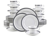 Mikasa Platinum Crown Cobalt 40 Piece Dinnerware Set