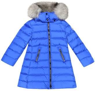 Moncler Enfant Abelle fur-trimmed down coat