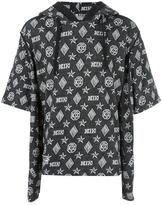 Kokon To Zai double sleeves hoodie - unisex - Cotton - S