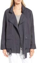 Nordstrom Women's Linen Blend Utility Jacket