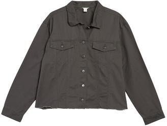 Caslon Fringe Twill Jacket