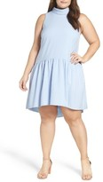 Eliza J Plus Size Women's Drop Waist Dress