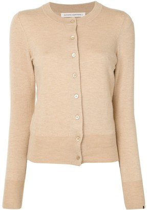 Extreme Cashmere Button-Up Cardigan