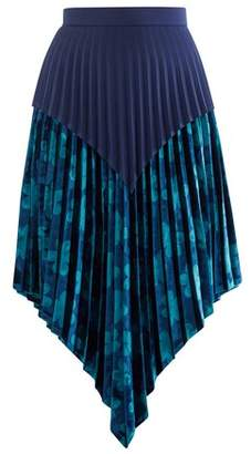 Thebe Magugu Floral pleated skirt