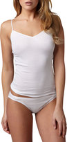 Hanro Cotton Seamless Camisole, White