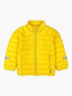 Polarn O. Pyret Children's Padded Coat, Sulphur