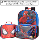 Spiderman Backpack & Lunch Bag, Little Boys (2-7) & Big Boys (8-20)