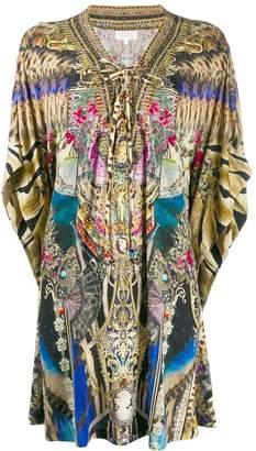 Camilla printed kimono top