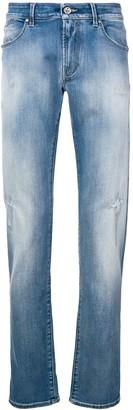 Karl Lagerfeld Paris Ripped Slim Jeans